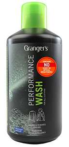 Grangers Performance Wash 1L now only £4! Amazon add on item (RRP £9.99). Leading technical wash for outdoor gear & waterproofs, including Gore-Tex