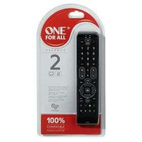 One for all 2 device remote control was £13, now £7 in Asda