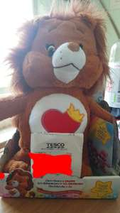 Brave Heart Lion Care Bear & cousins Medium clearance £5 - Tesco Extra Peterborough