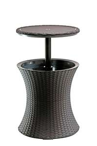 Keter Pacific Rattan Style Outdoor Cool Bar Ice Cooler Table Brown £39.99 @  Amazon Delivered