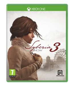 Syberia 3 (Xbox One) £17.49 Delivered @ Base