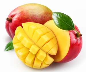 Mangos, Flat Peaches x 4, Plums 400g, Nectarines x 4 all just 49p from 16/8 at Tesco