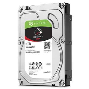 """Seagate IronWolf 3TB 3.5"""" NAS Hard Drive £88.98 Delivered @ eBuyer"""