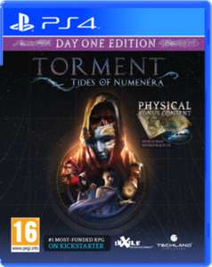 Torment: Tides of Numenera - Day 1 Edition (PS4/XBOX1) £7.99 Delivered @ Game
