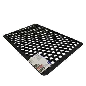 JVL Outdoor Honeycomb Rubber Ring Entrance Floor Door Mat [40 x 60 cm] £4.79 delivered to your door @ Amazon/Price Attack Ltd