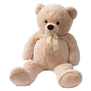 Snuggle Buddies 100cm Hugo Teddy Bear half price now £14.99 C+C @ The Entertainer