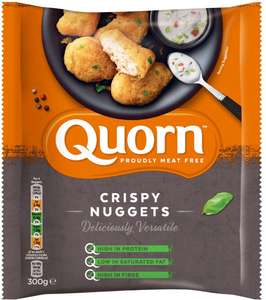 Quorn Meat Free Nuggets in a crispy shell (Frozen) (300g) was £2.00 now £1.00 @ Ocado