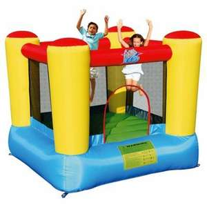 Airflow Bouncy Castle reduced from £130 to £45 at Tesco Instore