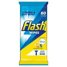 Flash All purpose wipes 60 pack £1 @ Asda