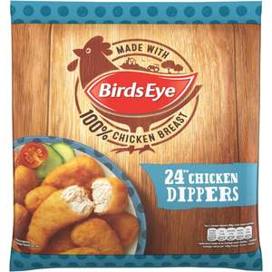 Birds Eye Crispy Chicken Dippers (24 = 440g) Half Price was £3.00 now £1.50 (Just over 6p a Dipper) @ Tesco