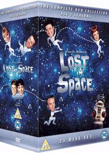Lost In Space - Complete 23 DVD Box Set DVD @ The Hut £25.99