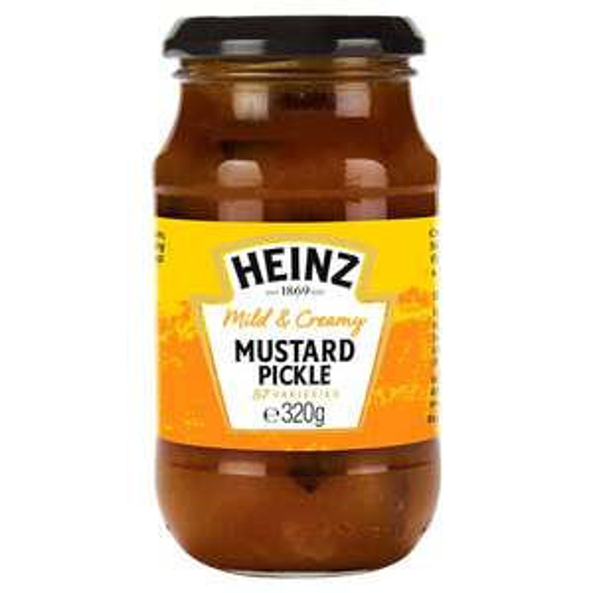 Heinz Mild & Creamy Mustard Pickle (320g) ONLY £1.10 @ Tesco & Morrisons