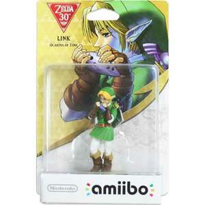 Zelda Ocarina of Time Link Amiibo - Nintendo £32.86 Sold by VIDEO OCA and Fulfilled by Amazon.