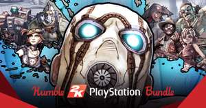 Humble 2K PlayStation Bundle from 78p @ HumbleBundle (North America PSN account required)