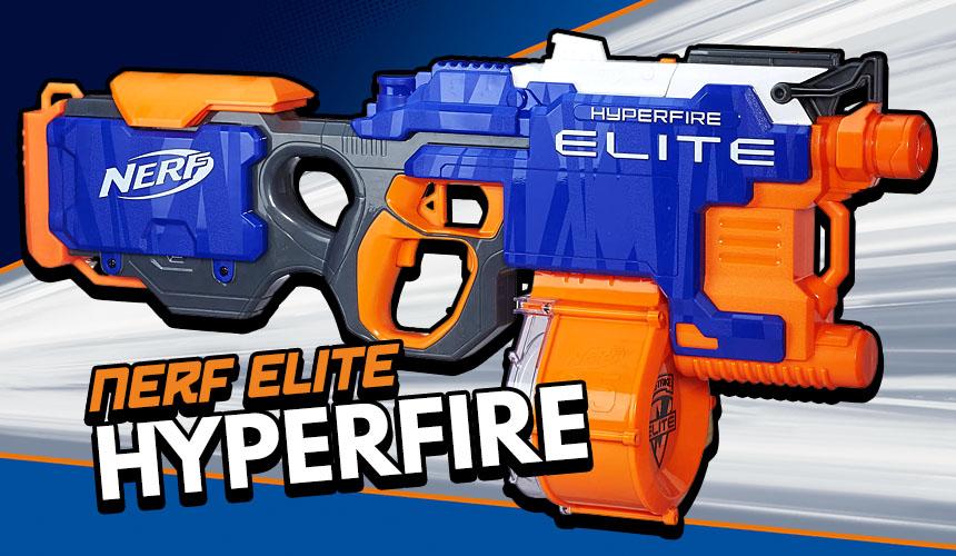 Nerf Hyperfire £13.06 In store Tesco St Helens