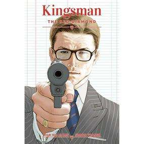 Kingsman Red Diamond Issue#1 First Edition Print (Cover A Signed Edition) Signed by Author Rob Williams £3.35 @ Forbidden Planet