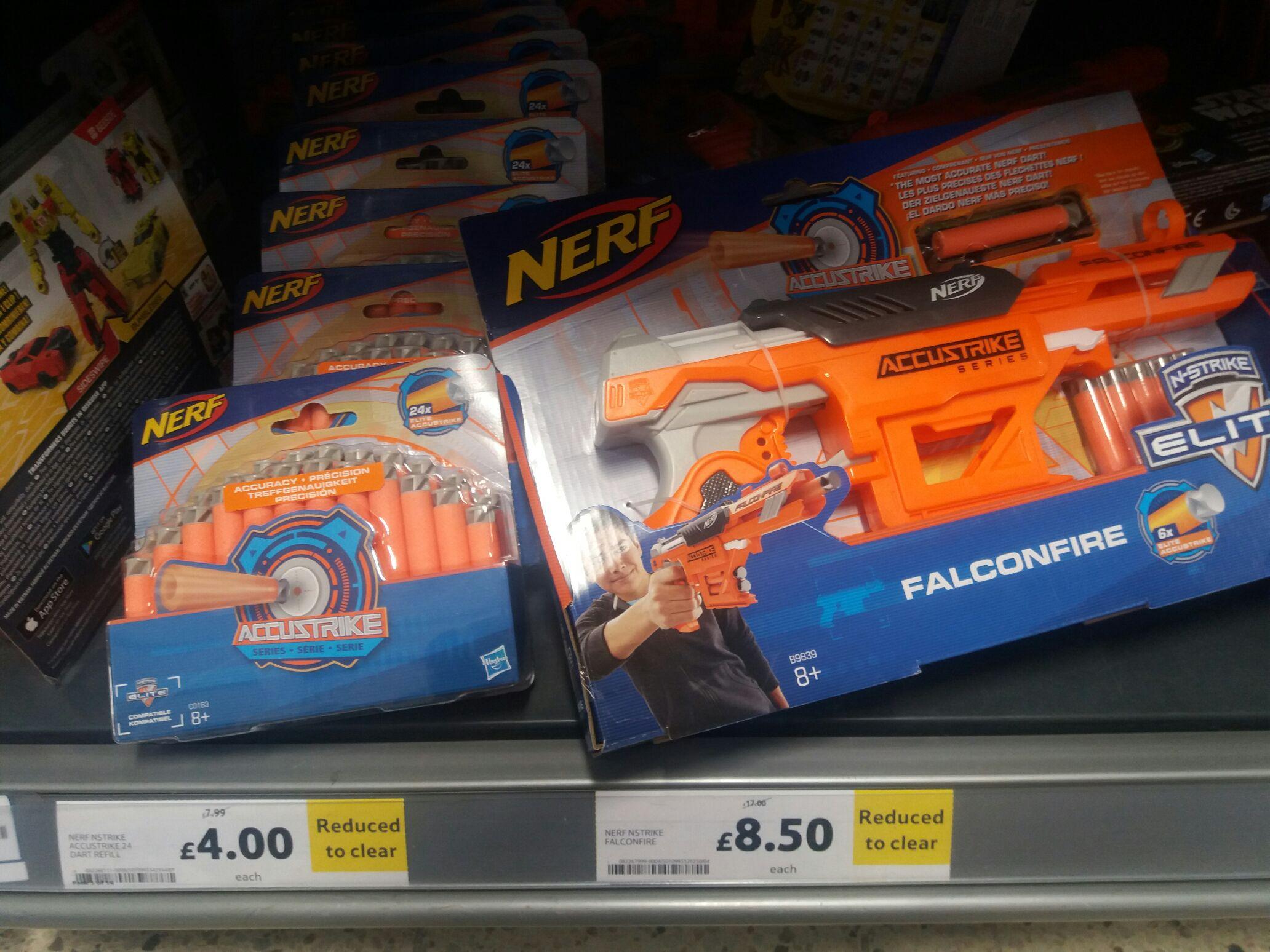 NERF accustrike falconfire @ Tesco Lichfeild RTC