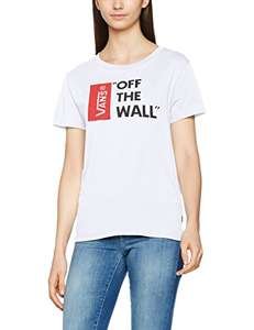 Vans Women's Anthem Basic T-Shirt, size large White £7.30 (Prime) / £11.29 (non Prime) at Amazon