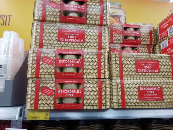 Rekorderlig hamper 15 variety pack £8 online & instore at Asda