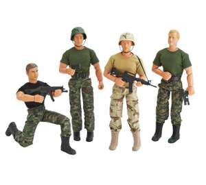 Chad Valley Military Action Figure Assortment £3.99 - Argos