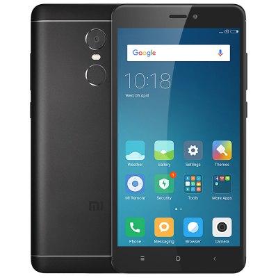 Xiaomi Redmi Note 4 4G Phablet  -  GLOBAL VERSION 3GB RAM 32GB ROM  BLACK  £115.26 @ gearbest