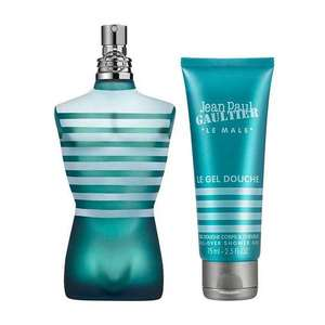 Edit 24/8 NEW code - Jean Paul Gaultier Le Male Gift Set 125ml EDT Spray + 75ml Shower Gel £35.05 with code + FREE Delivery @ Fragrance Direct (Order Combo of Free Del / Non Free Del Items & Get Free Del on Whole order)