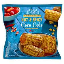 Iceland Hot & Spicy Corn Cobs with Sriracha Seasoning 600g (7 Day Deal) £1.00 @ Iceland