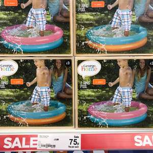 2 ring pool at Asda 75p in store