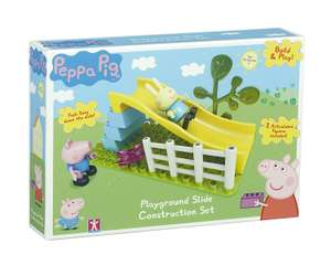 Peppa Pig Playground Slide Construction Set (Multi-Colour) ONLY £6.98  (Prime) / £10.97 (non Prime) at Amazon
