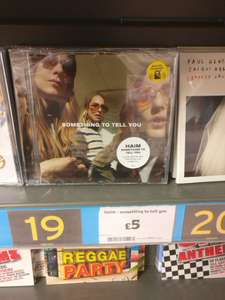 Haim - Something To Tell You - CD £5 in store at Sainsbury's / online @ Amazon
