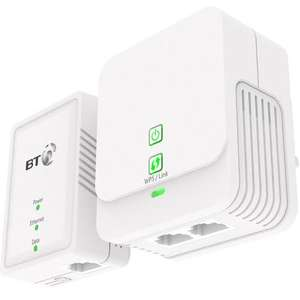 BT Powerline 500 Kit with WiFi Extender now at Argos for £20.99