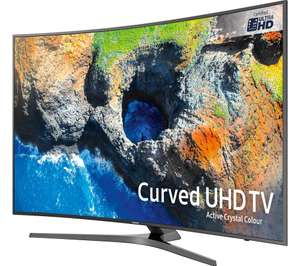 "Samsung UE55MU6670 55"" Smart 4K Curved TV - £799 + £200 Cashback @ Currys"