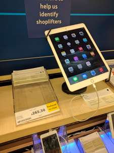 ipad air 2 32GB WiFi £265.30 Tesco Shettleston in store.