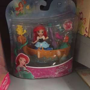 Disney figures reduced e.g Ariel £5 in asda instore - Ellesmere port