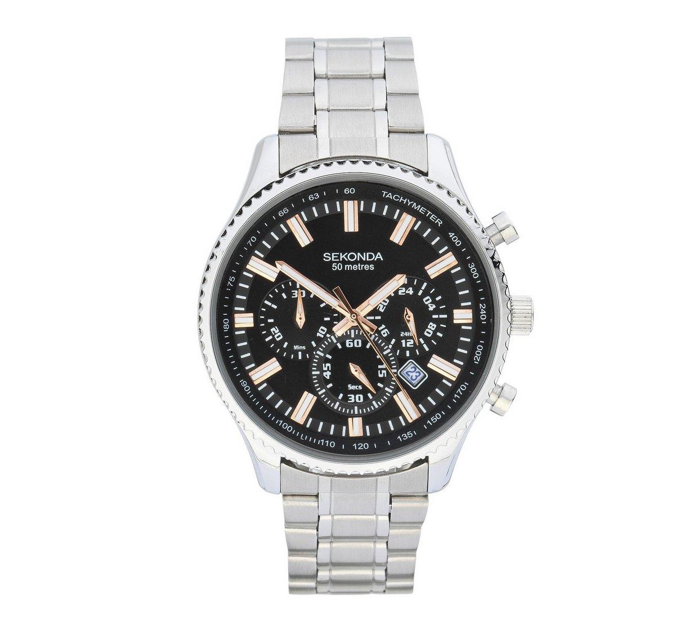 Sekonda Men's Dual Time Bracelet Watch £39.99 - Argos