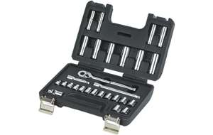 Halfords Advanced 28 Piece Metric Socket Set £12.50