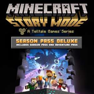 Minecraft story mode season pass and adventure pass £9.99 on psn