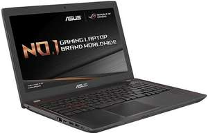Asus Gaming FX553VD-DM595T Laptop i7-7700HQ 8GB RAM SSD GTX 1050 £799.97 @ Save on Laptops