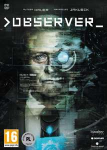 Observer PC £16.49 @ CDKEYS / £15.66 if you can get the 5% off as well