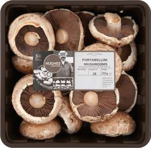 Hughes Portabellini Mushrooms (300g) was £1.99 now 2 packs for the price of 1 @ Ocado
