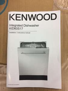 Kenwood Integrated Full Size Dishwasher - Misprice? £179.99 - Currys (instore only - for now?)
