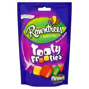 Rowntrees Tootie Frooties Or  Fruit Pastilles Red&Black 150G 60p @ Tesco