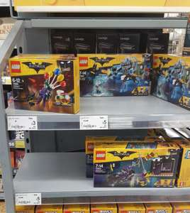 Lego Batman sets reduced in-store Asda Forfar e.g 70900 The Joker balloon escape - £3