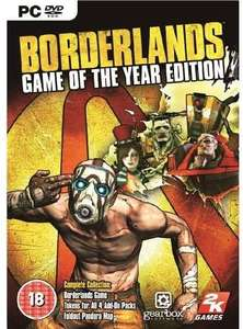 Borderlands: Game of the Year Edition (PC) £4.99 @ CDKEYS
