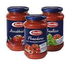 BARILLA sauces half price £1 TESCO