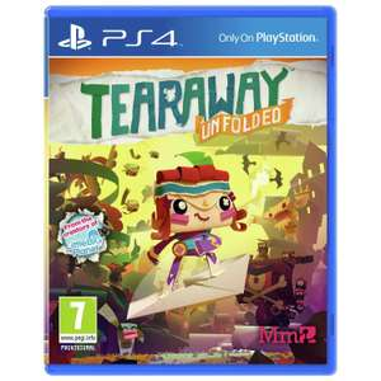 [PS4] Tearaway Unfolded - £6.45 - eBay/Argos