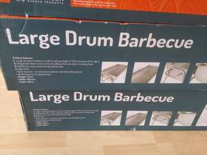 large drum bbq  for £12 at my local oldbury sainsburys