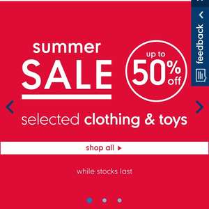 Mothercare sale - Lots of items half price
