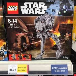 AT-ST Star Wars Lego 75153 £23.93 at Tesco in store