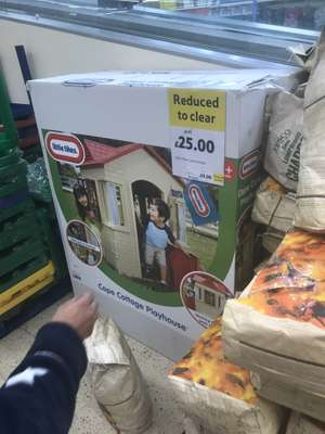Little Tykes Cape Cottage Playhouse £25 Tesco instore